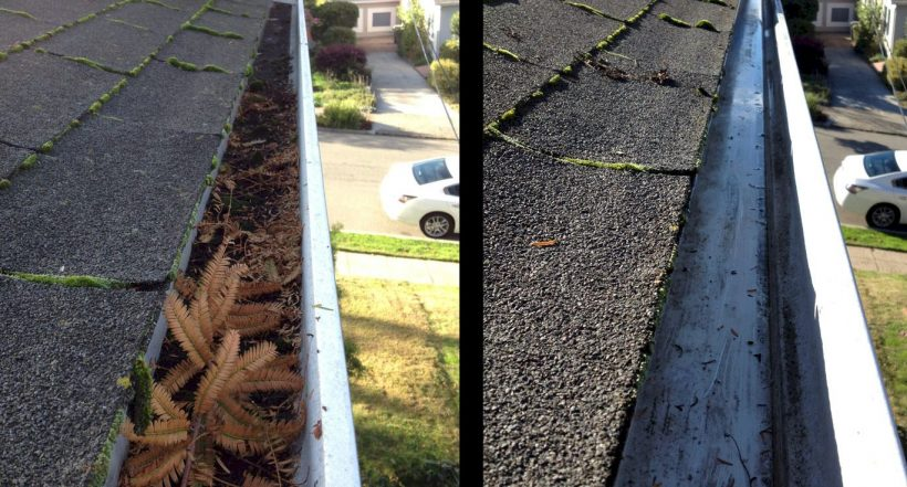 Gutter Cleaning StarVac